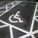 Car Park Line Marking in Abney 1