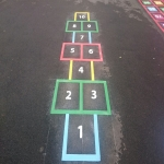 Thermo Plastic Roadway Markings in Arlington 4