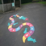 School Playground Marking in Alton 1