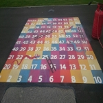 School Playground Marking in Ardminish 7