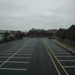 Car Parking Bay Relining in Aberwheeler/Aberchwiler 10