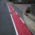 Thermo Plastic Roadway Markings in Ansells End 11