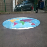 School Playground Marking in Ashford Bowdler 3