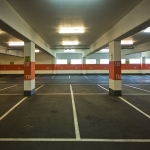 Parking Bay Colour Coating in West Lothian 7
