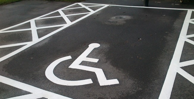 Car Park Markings in Abbotskerswell